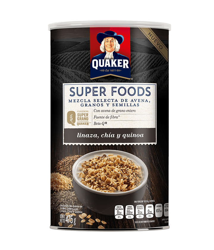 Quaker<sup>®</sup> Avena Old Fashioned Super Foods