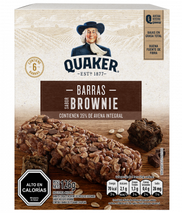 Quaker® Barra Sabor Brownie