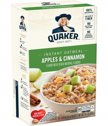 Avena Instantánea Apple Cinnamon Quaker