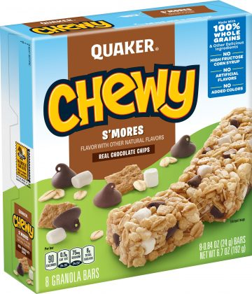 Chewy Low Fat S'mores Quaker