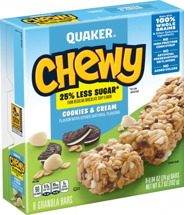 Chewy Low Fat Chocolate Chip Quaker