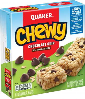 Chewy Chocolate Chip Quaker
